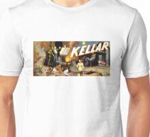 Harry Kellar Magician Vintage Poster Restored Unisex T-Shirt