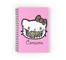 Greetings, Feline Overlord Spiral Notebook