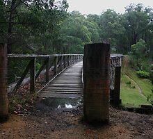 Rail Trail Bridge No 7 by Hedoff
