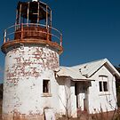 Crookhaven Heads Lighthouse. by Les Boucher