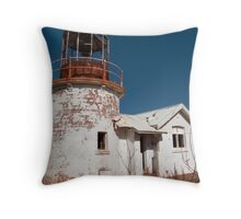Crookhaven Heads Lighthouse. Throw Pillow