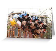 Balloons HK Dsineyland Greeting Card