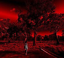 Red Sky Me by PLV by Lisa Defazio