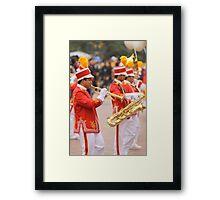 The Saints Go Marching Framed Print