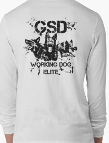 GSD - Working dog elite Long Sleeve T-Shirt