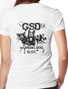 GSD - Working dog elite Womens Fitted T-Shirt