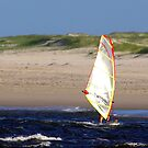 The Sail and the Sand by bygeorge