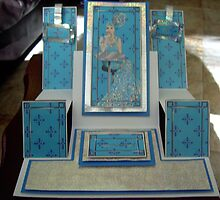 Handmade glamourous lady card by anaisnais