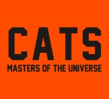 CATS - Masters of the Universe! Kids Tee