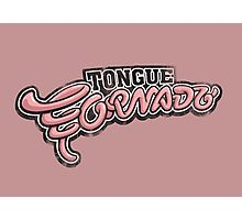 Tongue Tornado Photographic Print