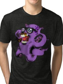 Flight of the Octopus - Mob's Accountant Version Tri-blend T-Shirt