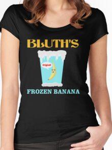Frozen Banana! Women's Fitted Scoop T-Shirt
