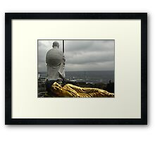 Golden Buddha and Muroto Cape Framed Print