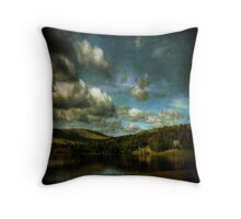 Malham Tarn, North Yorkshire Throw Pillow