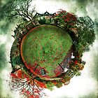 Autumn at East Riddlesden Hall - Planet2 by Lucy Martin