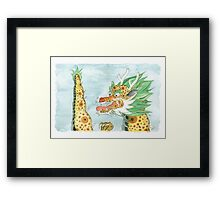 Korean Dragon I Framed Print