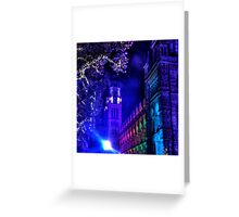 Natural History Museum, London, By Night Greeting Card