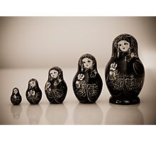Matryoshka Dolls Photographic Print