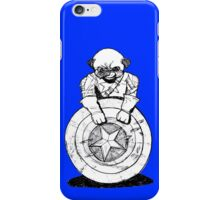 Pugs Love Comics Too - Captain Pug iPhone Case/Skin