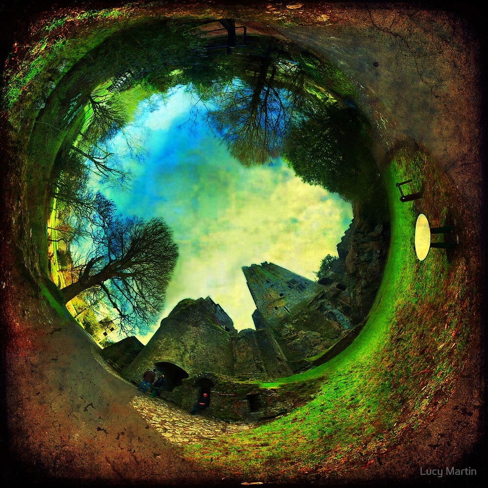 Blarney Castle, Ireland - Wormhole by Lucy Martin