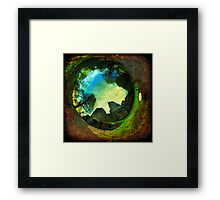 Blarney Castle, Ireland - Wormhole Framed Print