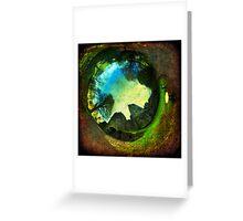 Blarney Castle, Ireland - Wormhole Greeting Card