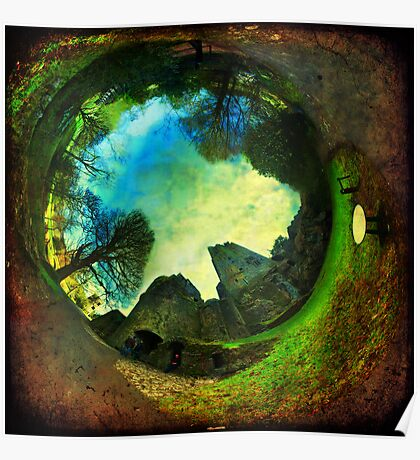 Blarney Castle, Ireland - Wormhole Poster