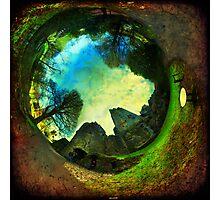 Blarney Castle, Ireland - Wormhole Photographic Print