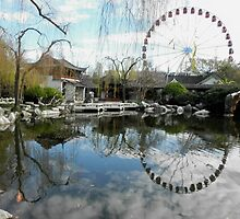 Chinese Gardens, Darling Harbour, Sydney, Australia. by kaysharp