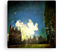 Blarney House, Ireland - Into the Sun Canvas Print