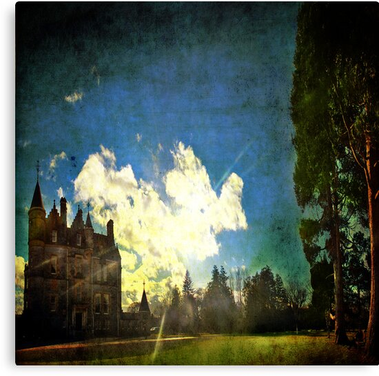 Blarney House, Ireland - Into the Sun by Lucy Martin