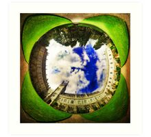 Cork University - Wormhole Art Print