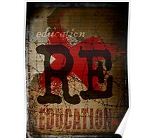 Education is freedom. Poster