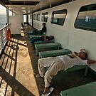 Ferry to Bali by Werner Padarin