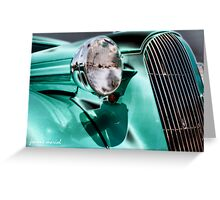 Classic Car 135 Greeting Card