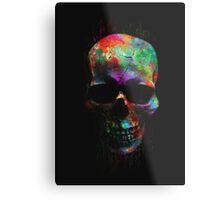 Radiant Skull Metal Print