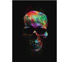 Radiant Skull Photographic Print