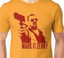 Mark it zero Red Unisex T-Shirt