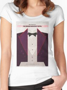 The Grand Budapest Hotel Women's Fitted Scoop T-Shirt
