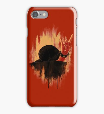 Rock Hard Snail iPhone Case/Skin