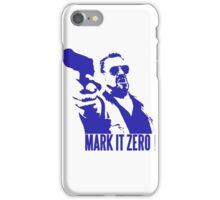 Mark it Zero Blue iPhone Case/Skin