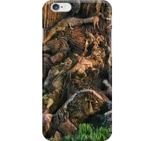 ANIMAL VISIONS IN A TREE TRUNK PICTURE,PILLOWS,TOTE BAG,CARD,SKIRT, ECT... iPhone Case/Skin