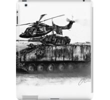 Warrior and Lynx, Iraq iPad Case/Skin