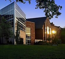 Columbia College by Randy Hughes