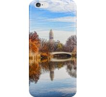 New York City Central Park Bow Bridge - Impressions Of Manhattan iPhone Case/Skin