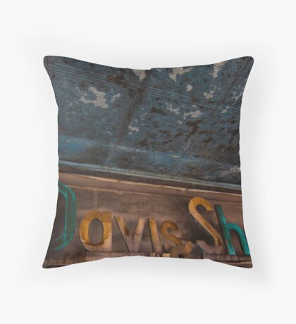 The Stamp Shop Throw Pillow