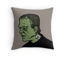 The Monster, Frankenstein Throw Pillow