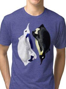 Yin Yang Penguins  Tri-blend T-Shirt