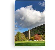 Glendalough Round Tower Canvas Print