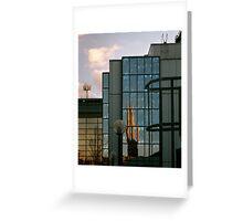 Church reflexion, Glasgow Greeting Card